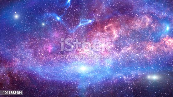 istock Background of galaxy and stars 1011383484