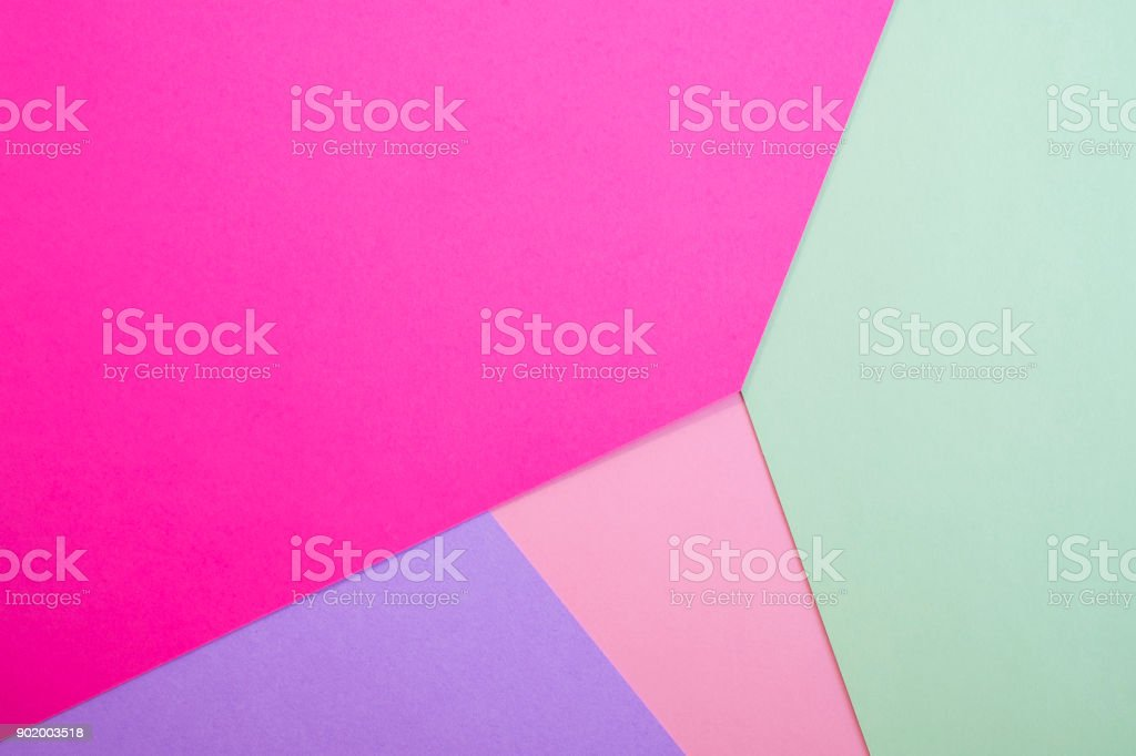 Background of geometric paper shapes. stock photo