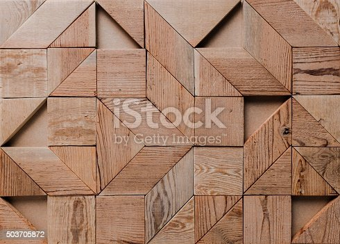 istock background of geometric wood pieces. 503705872