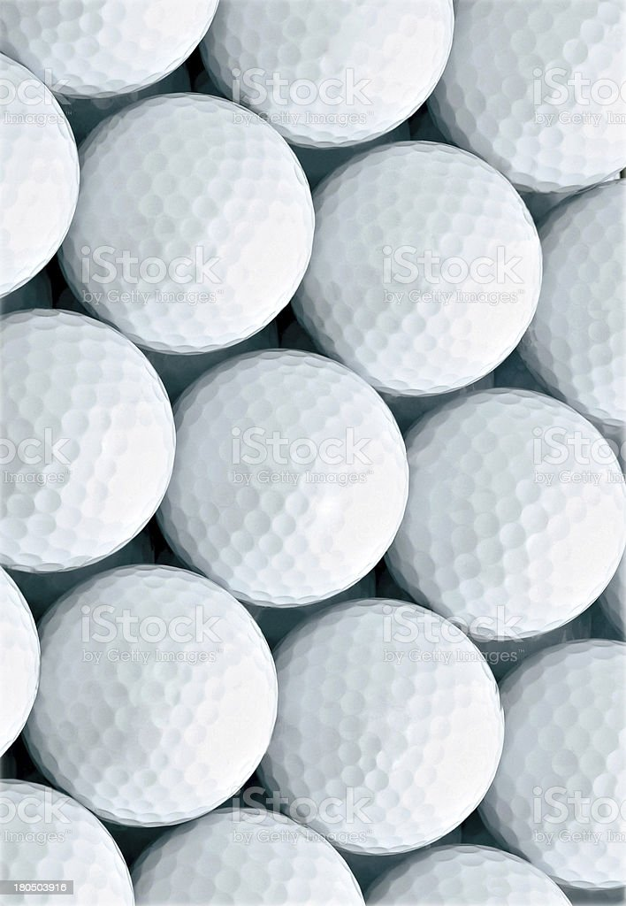 Background of golf ball royalty-free stock photo