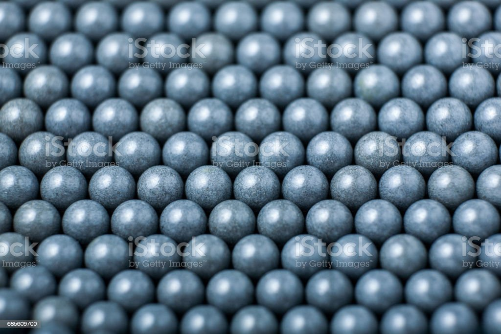 background of gray airsoft balls of 6mm foto de stock royalty-free