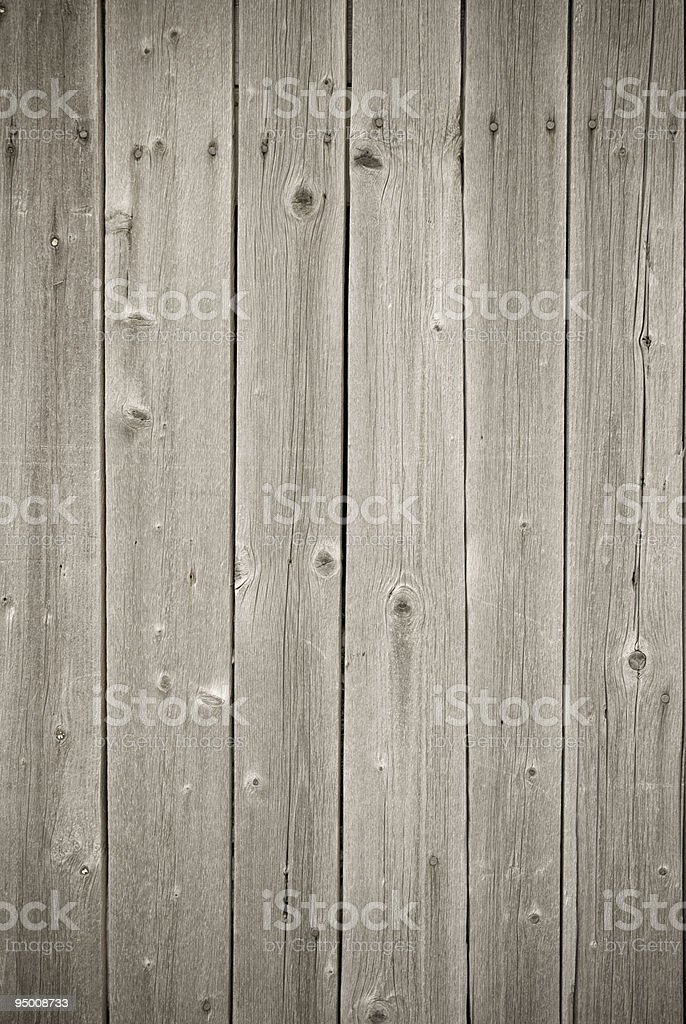 A background of gray wooden planks royalty-free stock photo