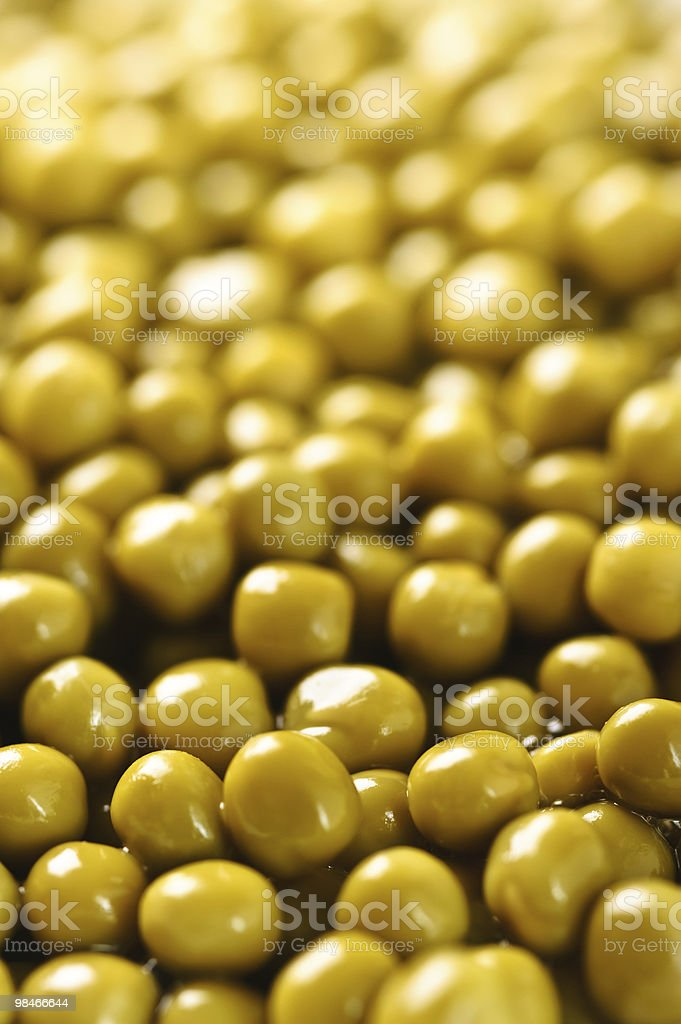 background of green peas royalty-free stock photo