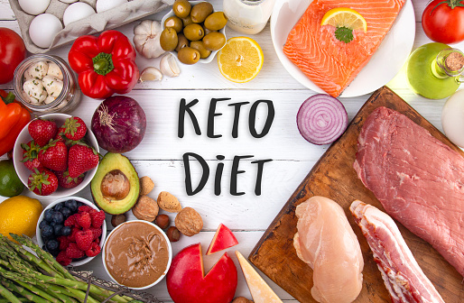 istock A Background of Healthy Food Perfect for a Low Carb Diet Like Keto 1162243740
