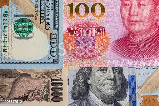 928696036 istock photo Background of international currency notes 1206847512