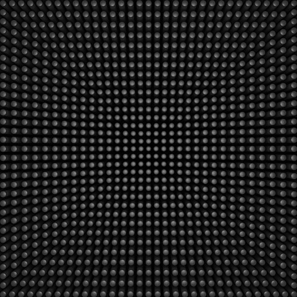 background of many dots stock photo
