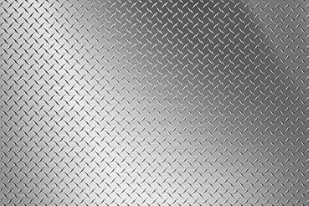 background of metal diamond plate - diamond plate background stock photos and pictures