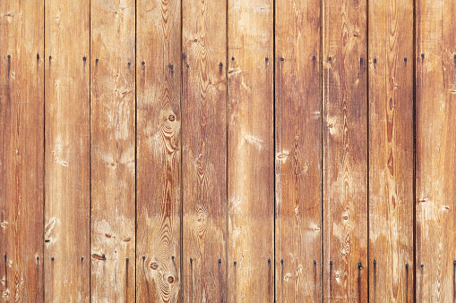 Background of old boards in vertical orientation