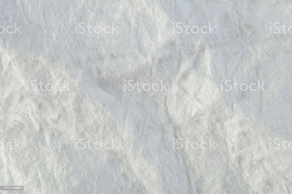 Background of old crumpled paper royalty-free stock photo