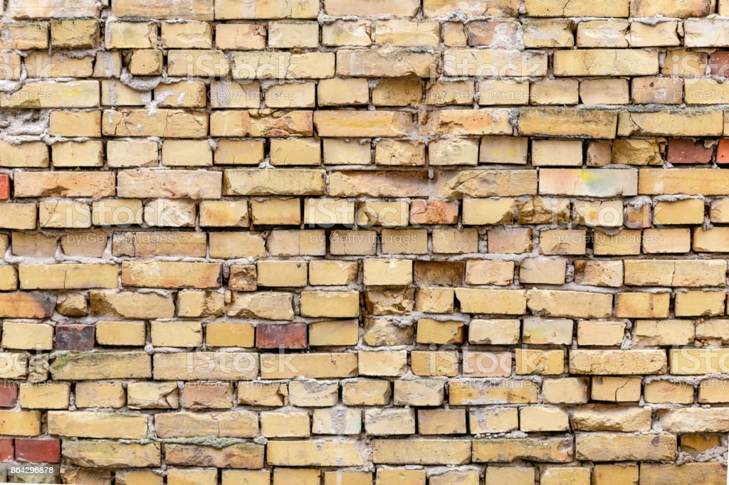 background of old red brick wall royalty-free stock photo