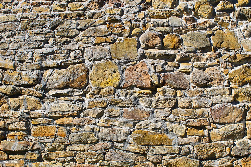 Background of old stone wall royalty-free stock photo