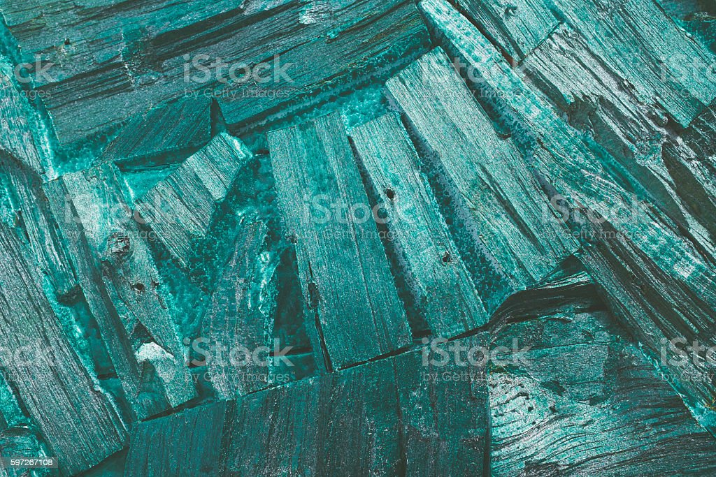 background of painted broken wood pieces. Lizenzfreies stock-foto