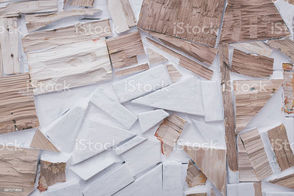background of refused wood pieces. royalty-free stock photo
