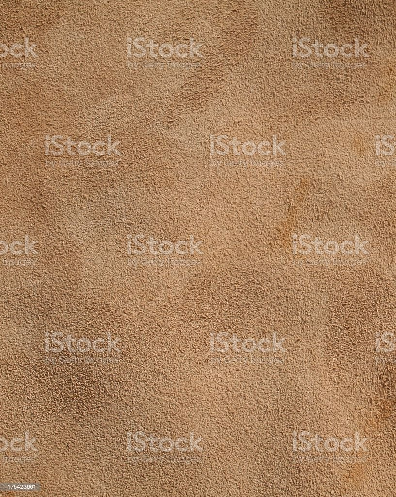 Background of rough weathered old brown leather royalty-free stock photo