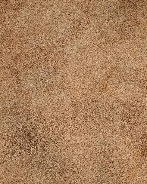 Background of rough weathered old brown leather stock photo
