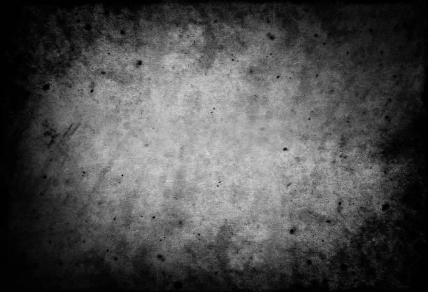 Fondo de miedo oscuro textura de pergamino de papel - foto de stock