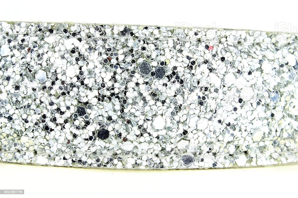Background of sequined fabric stock photo
