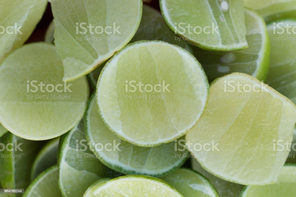 background of sliced lime royalty-free stock photo