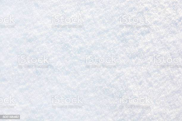 Background Of Snow Stock Photo - Download Image Now