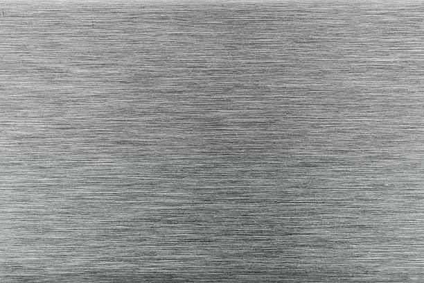 background of stainless steel metal surface stock photo