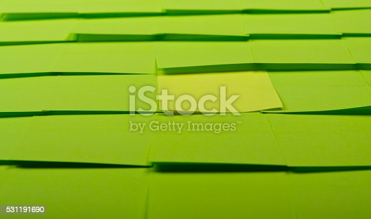 istock Background of Sticky Notes 531191690