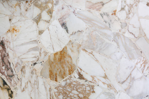 hintergrund der marmor terrazzo-boden - patina farbe stock-fotos und bilder