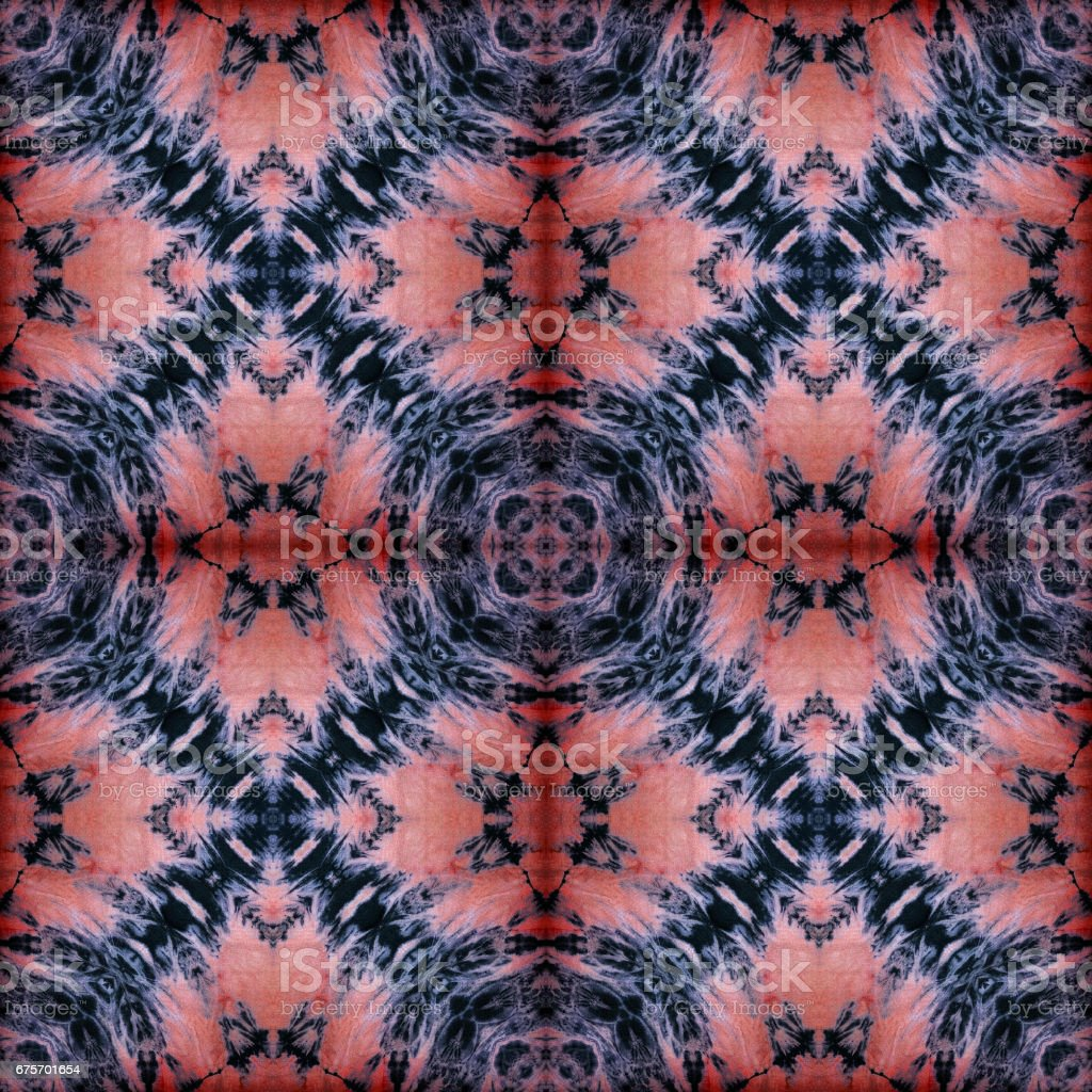 Background of Thai style fabric pattern royalty-free stock photo