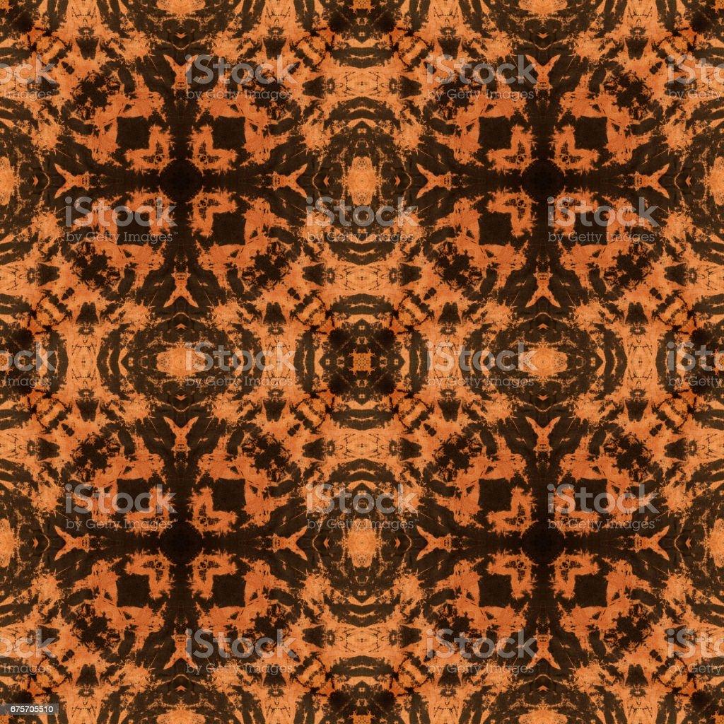 泰式風格織物圖案背景 免版稅 stock photo