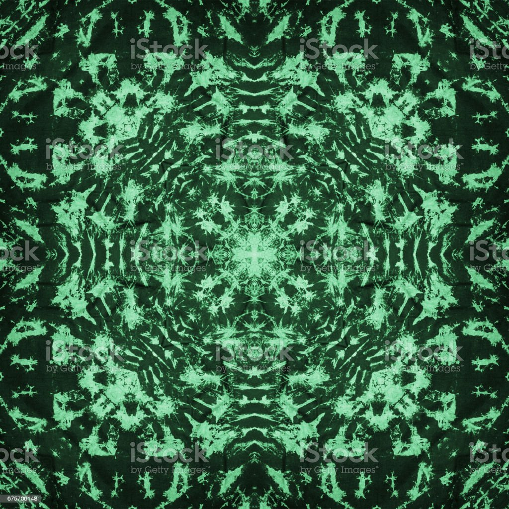 Background of Thai style fabric pattern stock photo