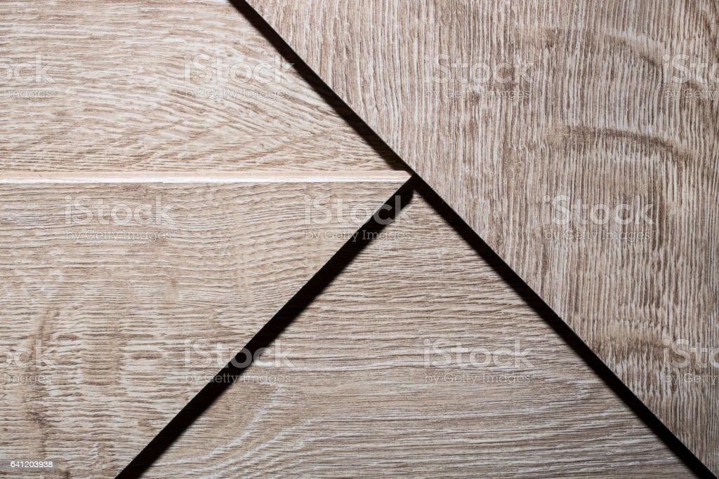 Background of the circumcision floor boards laminate flooring stock photo