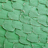 istock Background of the green cement wall is plaster rough style 476149201