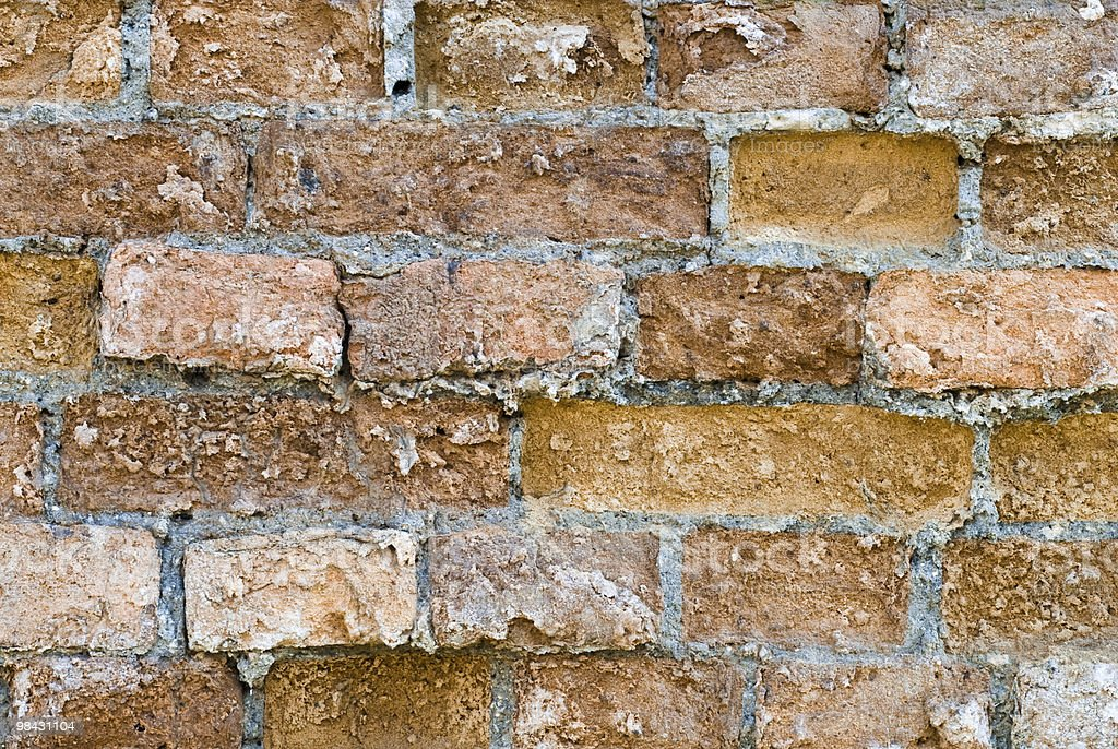 background of the old brick wall royalty-free stock photo