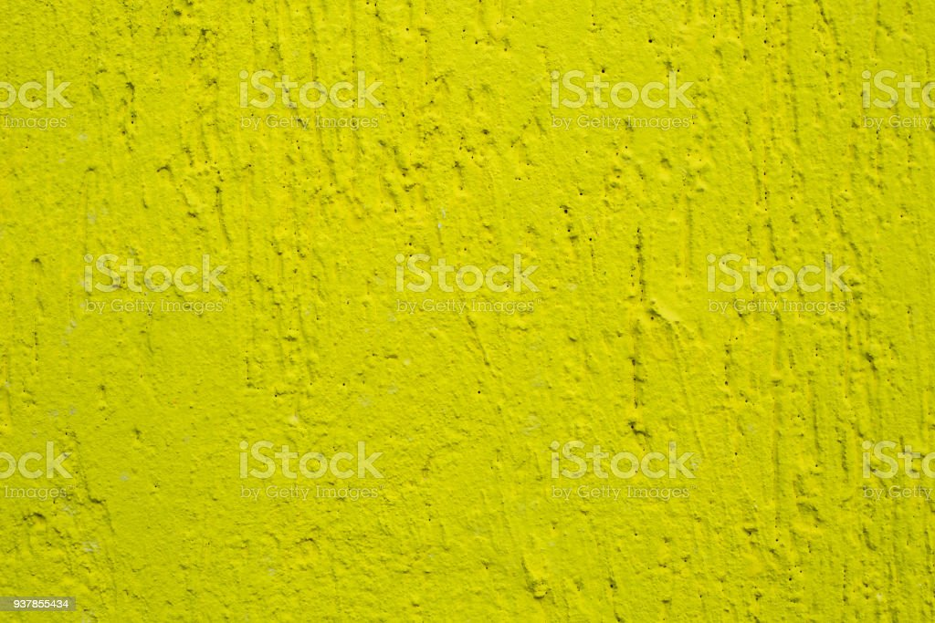 Background Of The Texture Wall Bright Yellow Colour Stock Photo ...