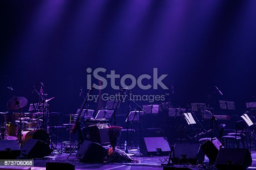 istock Background of the theater stage 873706068