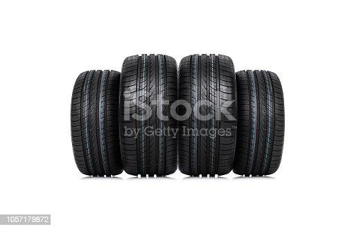 496485590 istock photo Background of the tire tread. 1057179872