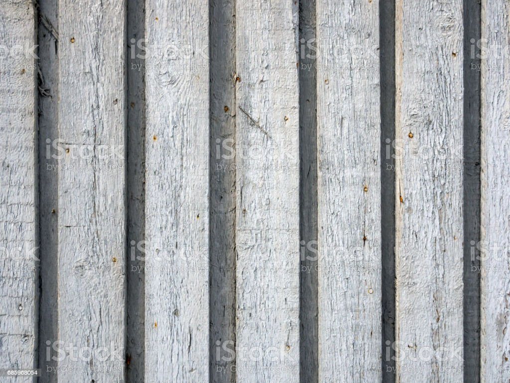 Background of the wooden planks connected overlapping stock photo