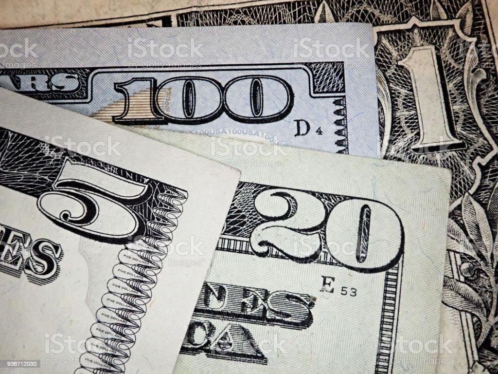 Background Of Us Dollar Bills United States Money Stock Photo More