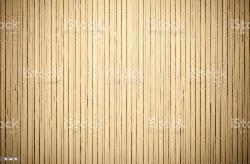 Background of vertical tan bamboo pattern stock photo
