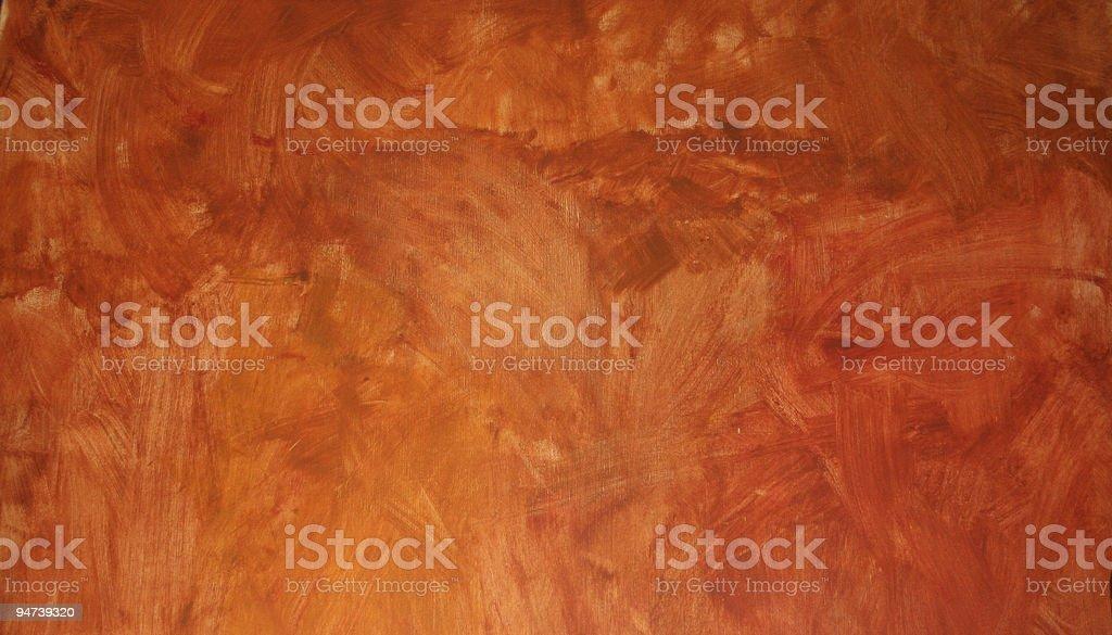 Background of weathered orange wall stock photo