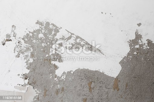639291528istockphoto background of white putty smeared on a concrete wall 1192815158
