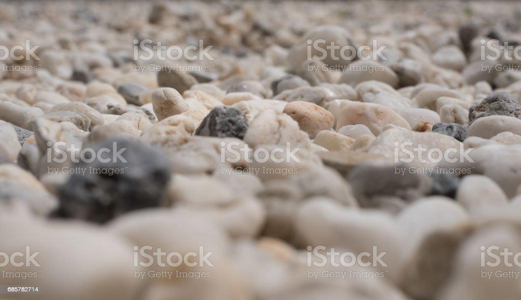 Background of white rocks royalty-free stock photo