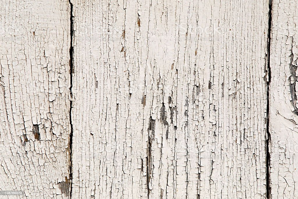 Background of white weathered wood texture royalty-free stock photo