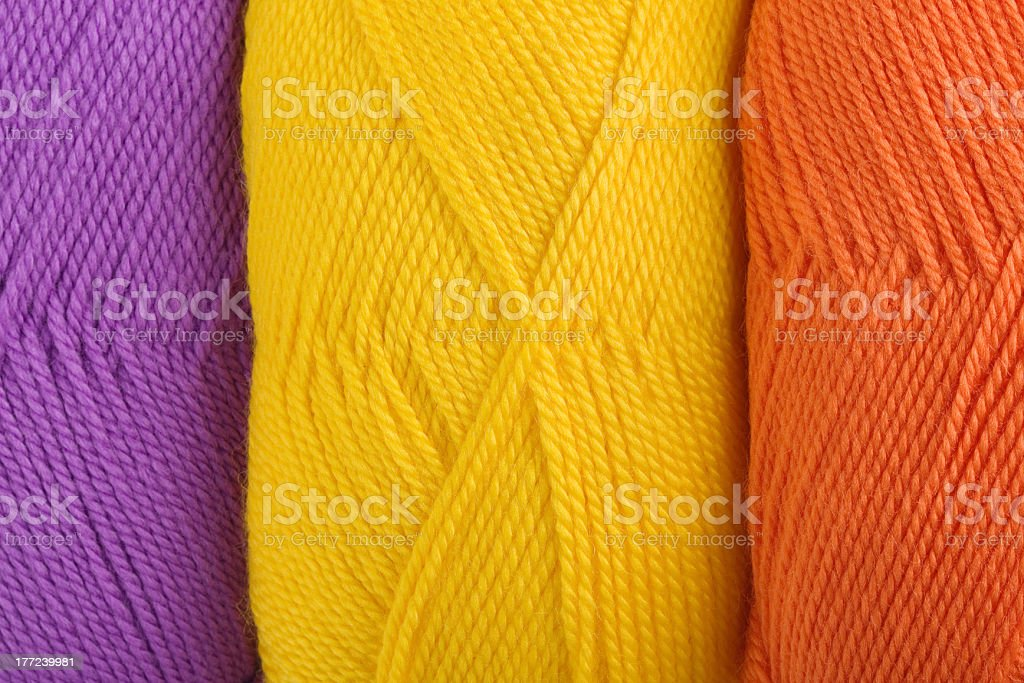background of yarn skeins royalty-free stock photo