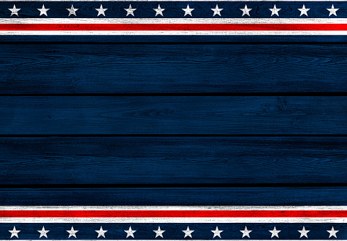 istock USA background on wood 1083450928