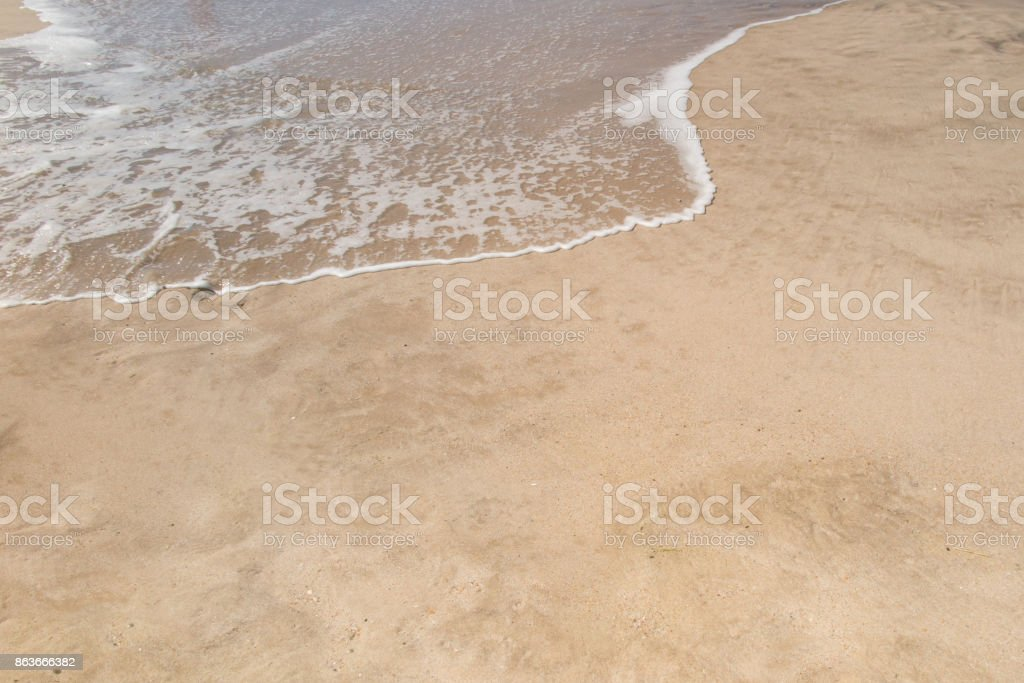 background or wallpaper the sand beach stock photo