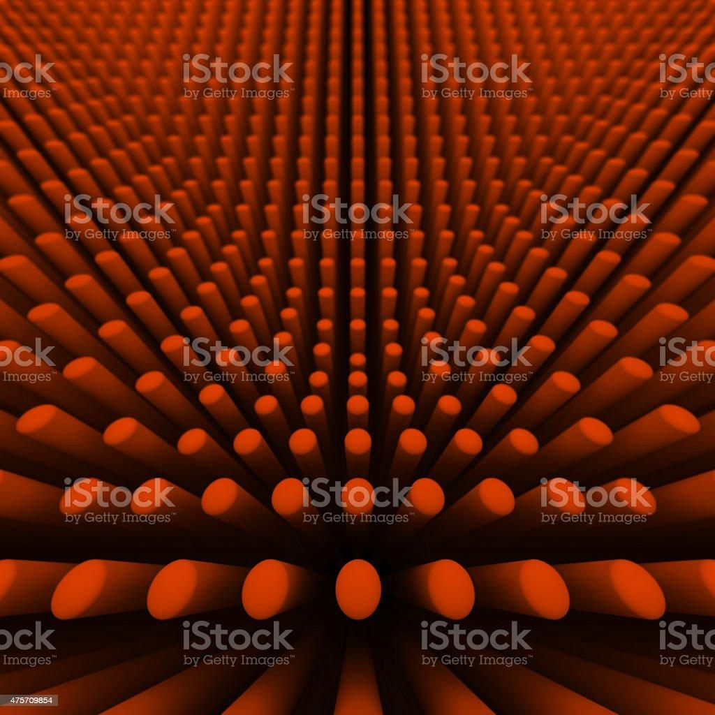 background orange cylinders stock photo