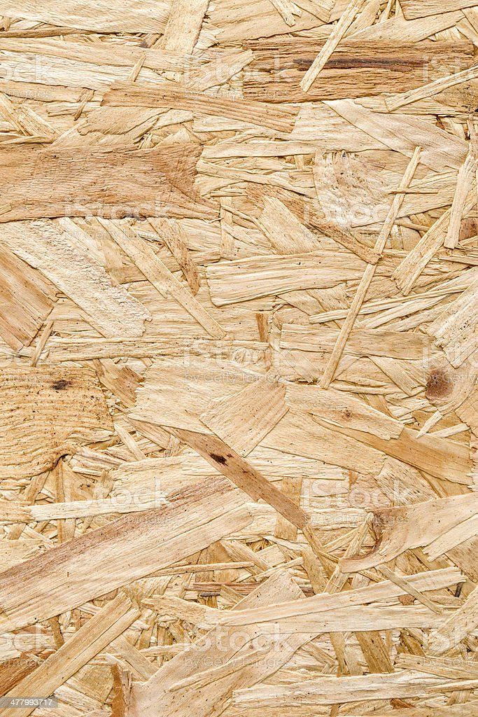 Background: Orientated Strand Board (OSB) royalty-free stock photo
