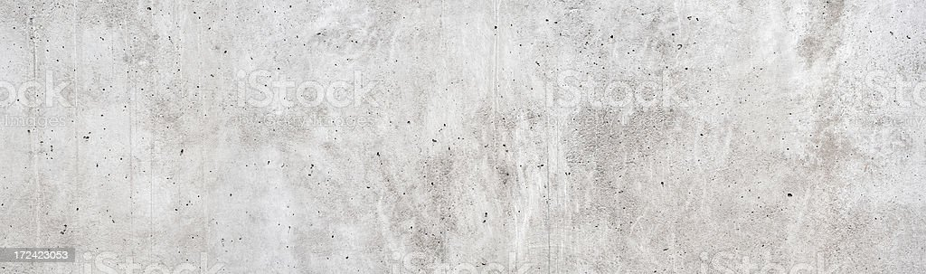 Background: panoramic concrete wall stock photo