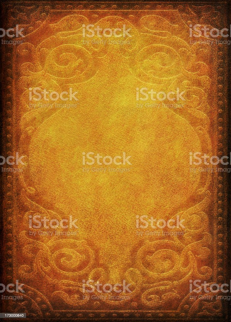 Background Paper with Ornate Pattern Effect royalty-free stock photo