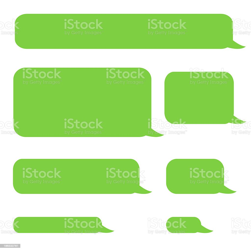 background phone sms chat bubbles royalty-free stock photo